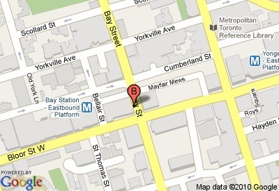 Bay Bloor Wellness Clinic location